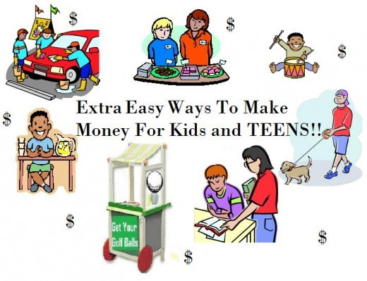 In This Resource Of Ideas For Making Money Is A Collection Of Ways Teens Can Make Money How Kids Can Make Money Ideas For Part Time Jobs From Home